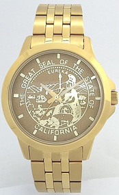 State of California State Seal Watch Gold Dial