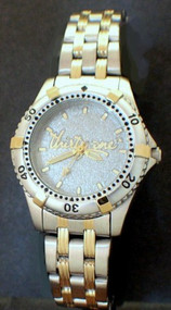 STAINLESS/GOLD SPORT WATCH