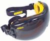 DeWalt Concealer Safety Goggles with Smoke Anti-Fog Lens