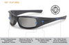 ESS 5B Ballistic Sunglasses with Black Frame and Polarized Mirror Lenses