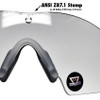 Oakley SI Ballistic M Frame 2.0 Strike Array with Black Frame and Clear and Grey Lenses