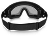 Oakley SI Ballistic Goggle 2.0 Array with Black Frame and Clear and Grey Lenses