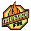 Radians SV225-2 Class 2 Two Tone Fire Retardant Hi-Viz Orange Mesh Safety Vest