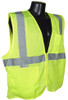 Radians SV2Z-Mesh Class 2 Hi-Viz Green Safety Vest with Zipper