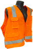 Radians SV7 Surveyor Class 2 Hi-Viz Orange Safety Vest