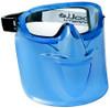 Bolle Blue Visor Shield for Atom Goggle