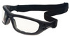 Guard Dogs G100 Safety Glasses/Goggle with Black Frame and Clear Anti-Fog Lenses