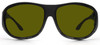 Haven Summerwood OTG Sunglasses with Black Frame and Yellow Polarized Lens