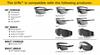 ESS/Oakley URx Prescription Insert Compatibility Chart