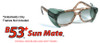 Safety Optical B-53 Sun Mate Tinted Sideshields Large (One Pair)