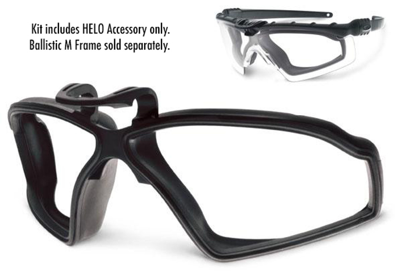 oakley si tactical si m frame helo gasket for ballistic 20 and 30