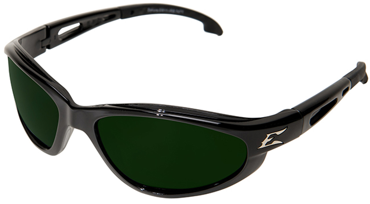 safety sunglasses  Edge Dakura Safety Glasses with Black Frame and Shade 5 Lens ...