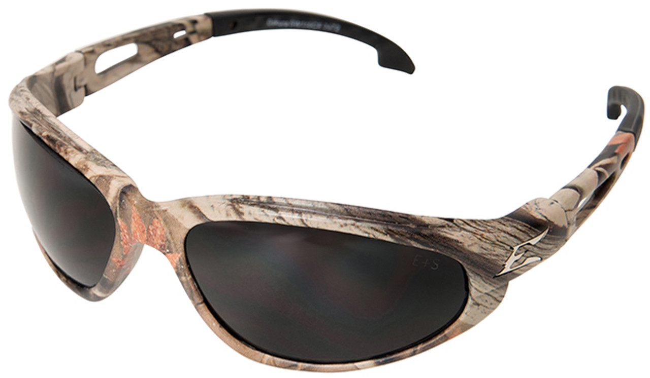Glasses Frame And Lens : Edge Dakura Polarized Safety Glasses with Camo Frame and ...