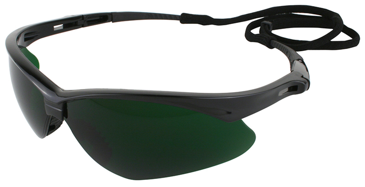 safety sunglasses  Nemesis Safety Glasses with Shade 5 Lens
