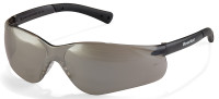 Crews Bearkat 3 Safety Glasses with Silver Mirror Lenses and Soft Gel Nose Pad