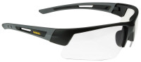 DeWalt Crosscut Safety Glasses with Black/Gray Frame and Clear Lenses