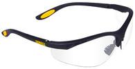 DeWalt Reinforcer Safety Glasses with Clear Anti-Fog Lens