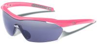 Gargoyles Pursuit Safety Sunglasses with Fuchsia Frame and Smoke Lens