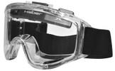 Haber Liquidator Splash Goggle with Single Clear Lens and Eliminator Fan