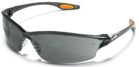 Crews Law 2 Safety Glasses with Gray Anti-Fog Lens