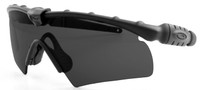 Oakley SI Ballistic M Frame 2.0 Hybrid with Black Frame and Grey Lens