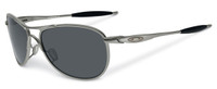 Oakley SI Ballistic Crosshair 2.0 Sunglasses with Gunmetal Frame and Grey Lens