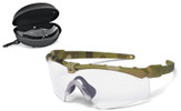 Oakley SI Ballistic M Frame 3.0 Array with Multicam Frame and Clear and Gray Lenses
