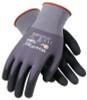 PIP G-Tek Maxiflex Ultimate, Black Micro-Foam Nitrile Palm & Finger Tips