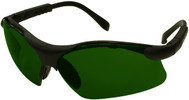Radians Revelation Safety Glasses with Black Frame and Shade 5 Lens