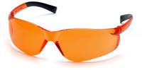 Pyramex Ztek Safety Glasses with Orange Lens