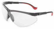 Uvex Genesis XC Safety Glasses with Black Frame and Clear Ultra Dura Lens