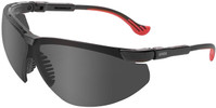 Uvex Genesis XC Safety Glasses with Black Frame and Gray Lens
