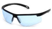 Pyramex Ever-Lite Safety Glasses with Black Frame and Infinity Blue Lenses