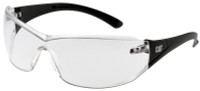 CAT Shield Safety Glasses with Black Frame and Clear Lens