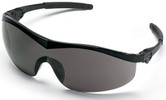Crews Storm Safety Glasses with Black Frame and Gray Lens