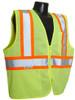 Radians SV22-2Z Class 2 Economy Mesh Hi-Viz Green Safety Vest