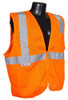 Radians SV25-2 Class 2 Fire Retardant Hi-Viz Orange Mesh Safety Vest
