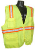 Radians SV6 Two Tone Surveyor Class 2 Hi-Viz Green Safety Vest