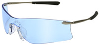 Crews Rubicon Safety Glasses with Light Blue Anti-Fog Lens