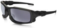 Oakley SI Ballistic Shocktube with Matte Black Frame and Grey Lens
