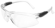 Jackson Visio Safety Glasses with Silver Temple and Clear Anti-Fog Lens