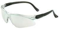 Jackson Visio Safety Glasses with Black Temple and Indoor/Outdoor Lens