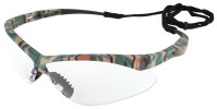 Jackson Nemesis Safety Glasses with Camo Frame and Clear Anti-Fog Lens