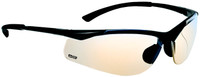 Bolle Contour Safety Glasses with Gunmetal Frame and ESP Anti-Scratch Lenses