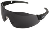 Smith & Wesson 44-Magnum Safety Glasses with Black Temples and Smoke Anti-Fog Lens