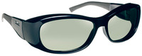 Haven Solana OTG Sunglasses with Midnight Blue Frame and Gray Polarized Lens