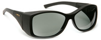 Haven Balboa OTG Sunglasses with Gloss Black Frame and Gray Polarized Lens
