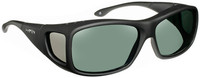 Haven Denali OTG Sunglasses with Soft Matte Black Frame and Gray Polarized Lens