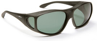 Haven Rainier OTG Sunglasses with Soft Matte Black Frame and Gray Polarized Lens
