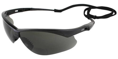 Jackson Nemesis Rx Bifocal Safety Glasses With Smoke Lens